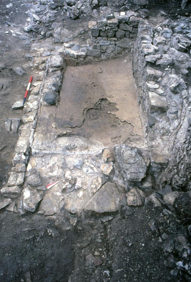 Particolare di una cisterna - Detail of a cistern