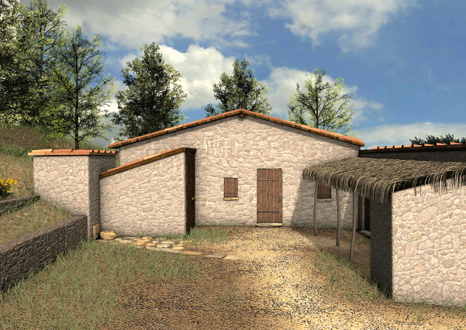 Archeologia virtuale: gli edificiVirtual archaeology: the buildings