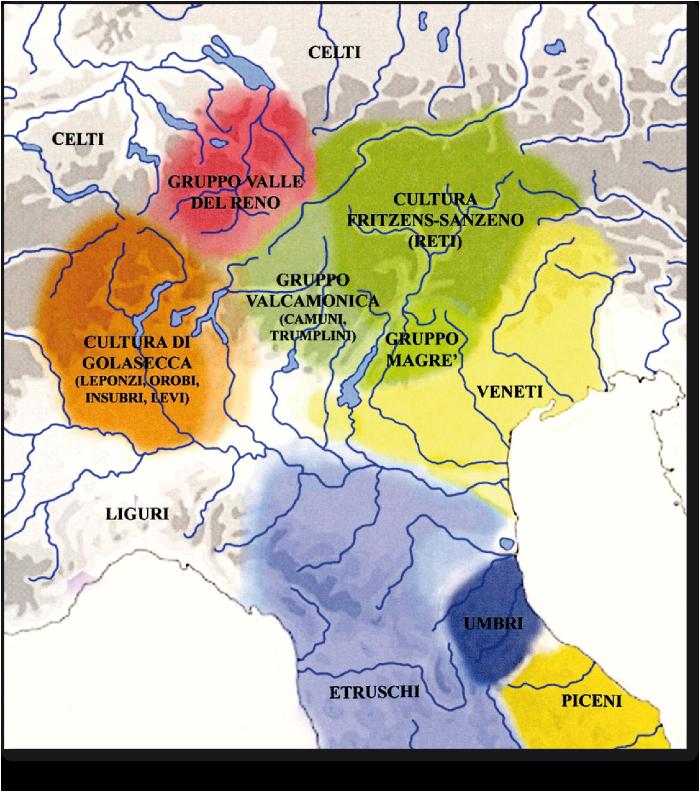 Seconda età del Ferro: gruppi e culture in Italia Centro-Settentrionale - Middle iron age: groups and cultures in the north Central Italy