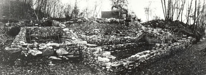 Il santuario nel 1976 - The sanctuary in 1976